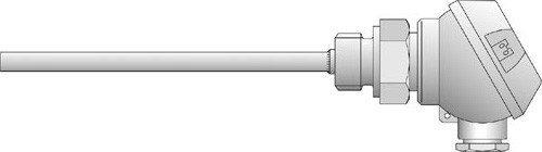 Jumo sonda di temperatura Termoresistenza 90/Collegamento 00533433testa forma J 4053877011774