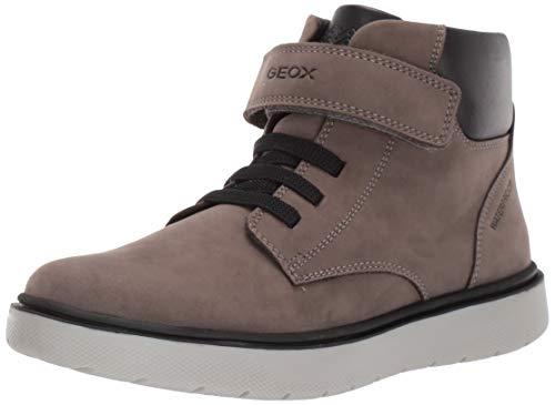Geox Jungen J RIDDOCK Boy WPF A Chukka Boots, Grau (Dk Grey C9002), 34 EU