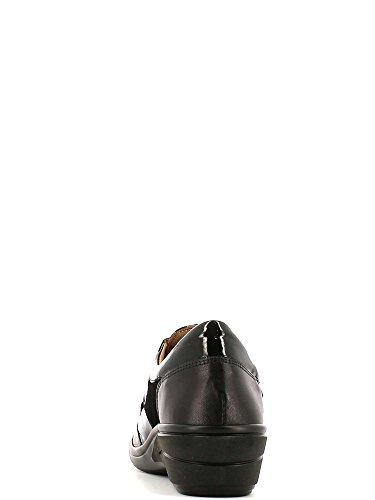 Grunland SC1261 Scarpa velcro Donna Nero