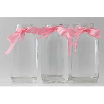 Flasche Vase Tischvasen Glasflaschen Dekoflaschen Väschen 12 x Glasfläschchen