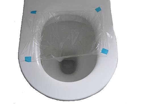 HyStool – 2 Beutel Kit – Kit zur Sammlung von Stuhlproben – einfach und hygienische Beutel die sich nach dem Spülen selbstauflösen – Verwendung mit Darmkrebs Fäkal