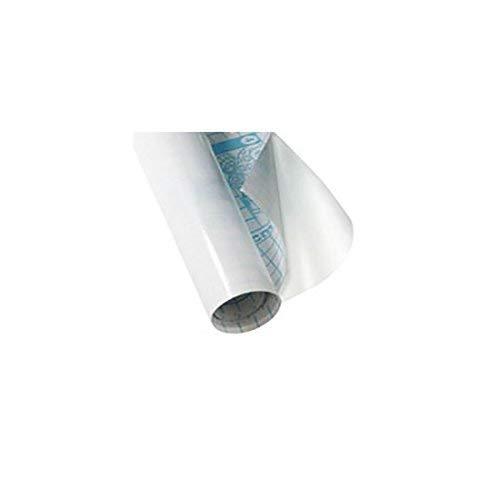 BALMAR 2000 Rotolo Coprilibro Adesivo in Polipropilene Liscio Trasparente 45cm x 2m