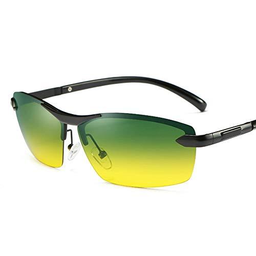 Shengjuanfeng-brillen Fahren bei Tag und Nacht bei kombinierter Verwendung Polarisierte Sonnenbrille mit Laufwerk Erleichtern Sie die Scheinwerfer und sichern Sie die Sicht Accessoires