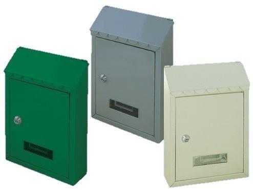 Cassetta postale Popular con tetto Colore bianca...