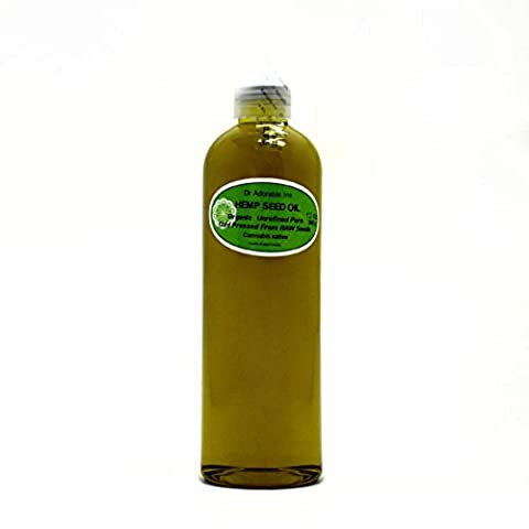 Hemp Seed Oil A Level of Beauty & Health 12 Oz