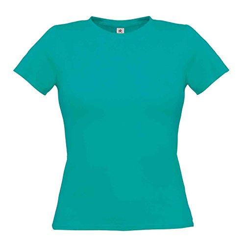 B&C Collection Damen Modern T-Shirt Real Turquoise
