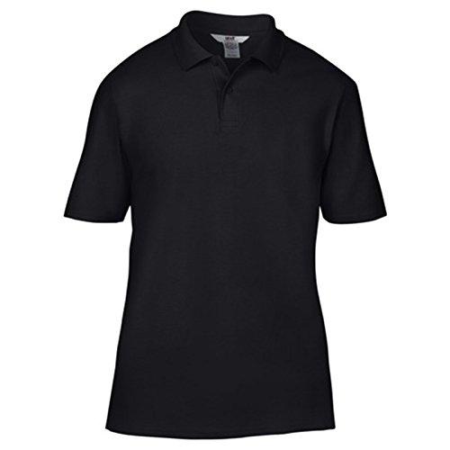 Anvil Herren Modern T-Shirt Schwarz