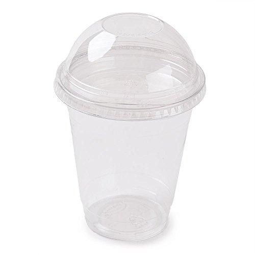 fendii Smoothie Cups mit Dome Deckel 368,5/360ml (50Stück) -