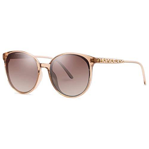 WYJW Sonnenbrille Polarisierte Sonnenbrille Die Retro-UV-Sonnenbrille von Lady