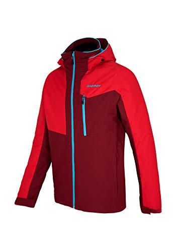 Ziener Herren Paron Man (Jacket ski) Jacke Burgundy 50