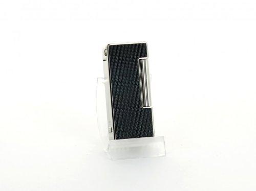 Sarome Feuerzeug für Pfeifenraucher schwarz poliert/Aluminium (Pfeifenraucher)