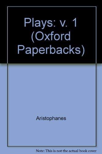 Plays: v. 1 (Oxford Paperbacks)