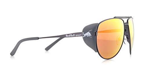Red Bull Spect Brille grayspeak Einheitsgröße Smoke Red Mirror/Matt Gun/Matt Dark Grey