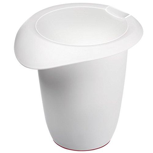 Westmark 3150227W Pichet de mélange 1,0l en PP Blanc, 17 x 16,3 x 15,8 cm