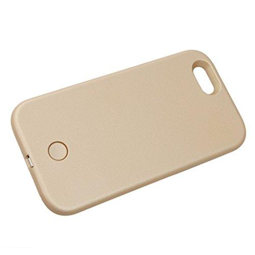 Housse Coque de Protection Cas Téléphone Couverture Lumineuse - Doré Rose, pour iphone 5s doré