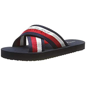 Tommy Hilfiger Damen Colorful Tommy Slide Sandal Zehentrenner