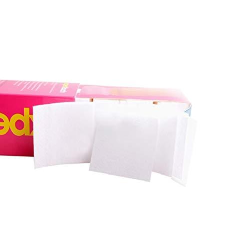 1 Caja de 325 Unids Almohadillas Removedoras de Esmalte de Uñas Profesional Esmalte de Uñas de Algodón Toallitas de Descarga Removedor de Acrílico para Manicura Pedicura