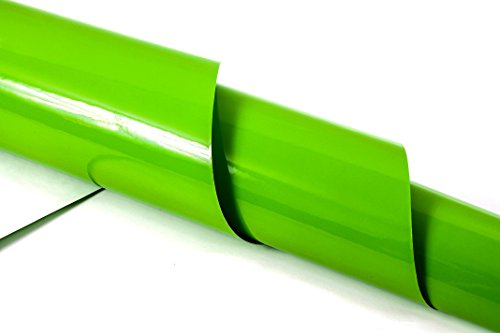 Ladekantenschutz-Folie Lack Schutz gegen Kratzer Einsatz als Steinschlagschutz, Ladekantenschutz, Struktur / Farbe wählbar ( Glossy Apple Green) (Apple Green Coupe)