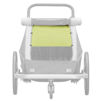Croozer Sonnensegel f. Kinderanh.Kid/Kid P.f.2 f. Kid/Kid Plus for 2,Lemon gr