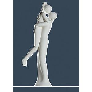 Francis Skulptur Paar FREUDENSPRUNG Paarfigur creme Gilde