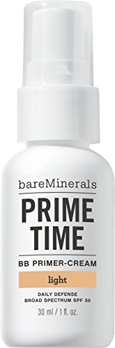 bareMinerals Prime Time BB Primer-Cream Daily Defense Lotion SPF30 30ml Light