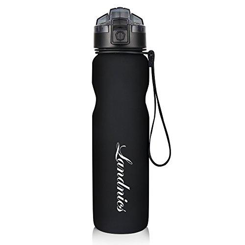 Landnics Sportflasche Trinkflasche Sport Flasche 1L im Test