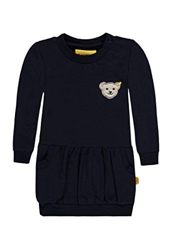Steiff Baby-Mädchen Kleid 1/1 Arm, Blau (Marine 3032), 86