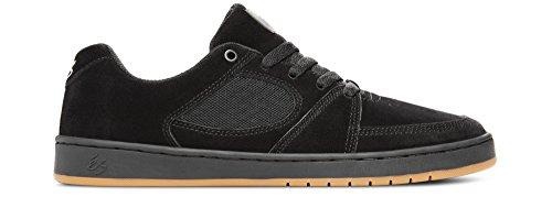 Es Accel Slim brown/gum Shoes noir - black/black/gum
