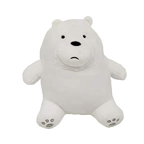 We Bare Bears Sitting Ice Bear Plush 20 cm