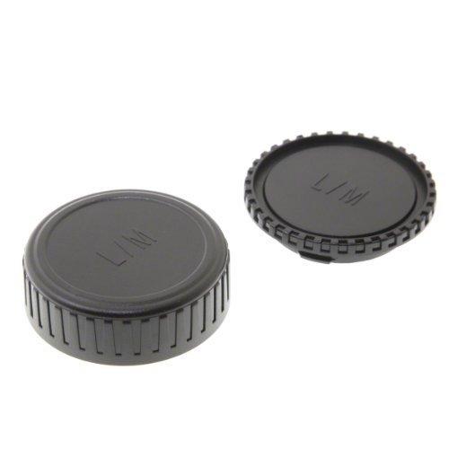 Gehäusedeckel und Objektivrückdeckel für Leica M Objektive und Kameras, z.B. Leica M9, Voigtländer SPIEGEL Bessa, Zeiss Ikon etc.