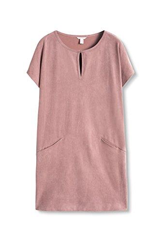 ESPRIT Damen Kleid 096ee1e027 Rosa (Dark Old Pink 675)