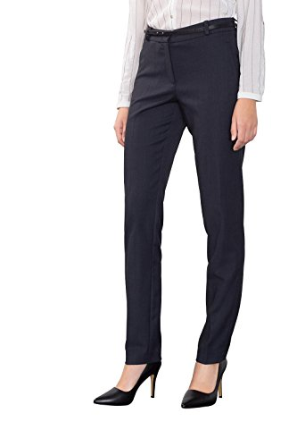 ESPRIT Collection Damen Hose 996EO1B900, Blau (Navy 400), W27/L32 (Herstellergröße: 36)