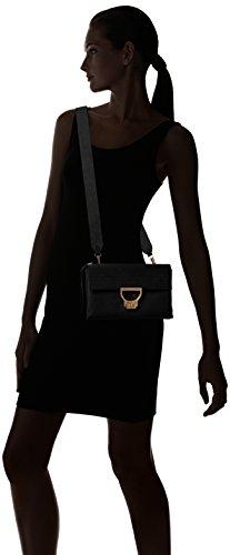Suede Handtasche Noir Coccinelle Arlettis 1201 wXHTxEpq