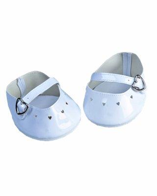 """Bianco vestito e scarpe per orsacchiotti di peluche Build a Bear 15-(16"""") 40,64 cm (40"""") cm)"""