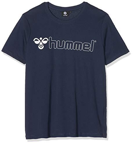 Hummel Herren HMLLUKE T-shirts Dunkelblau Iris, 3XL