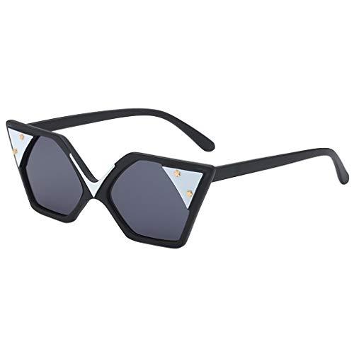 Dorical Retro Sonnenbrille Für Unisex Herren und Damen Mehrfarbig Fashion Vintage...