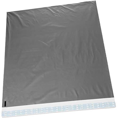 22x 28Jumbo selbstverschließende Poly Mailer Protected Staubbeutel 2,5Mil 25 bags Silver silber
