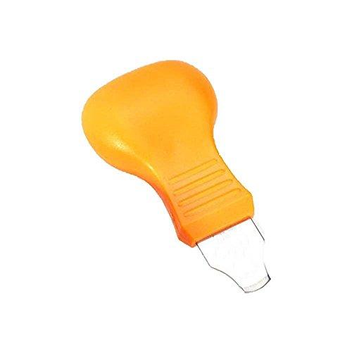 Montre Coque arrière Opener Couteau Batterie Remover réparation Tool-Yellow