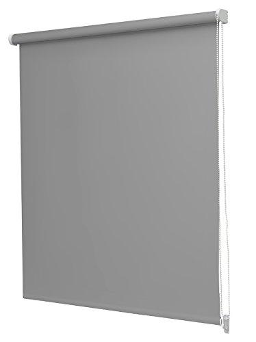 Estor Enrollable Opaco Regular N.130 60x250cm Gris Oscuro