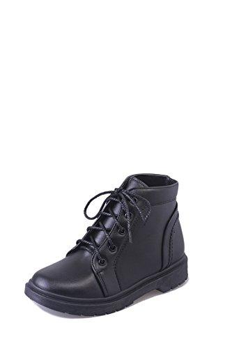 Scarpe da donna invernali femminili britanniche Martin Winter Scarpe All-Match Slip Low con tubo corto black