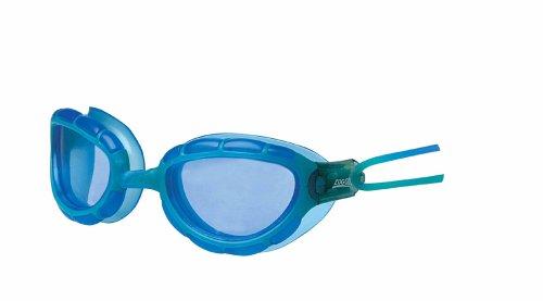 Zoggs Predator swimming - Gafas de natación, color azul lens / rojo frame