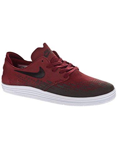 Nike Lunar Oneshot Skate Shoes team red / black / white / rot Gr. team red/black/white