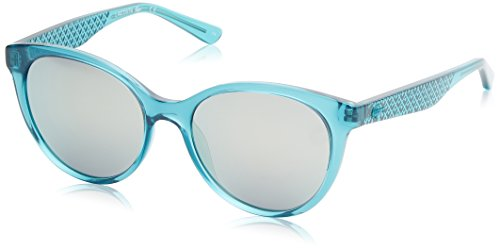 Lacoste cat eye, occhiali da sole donna, celeste, 53