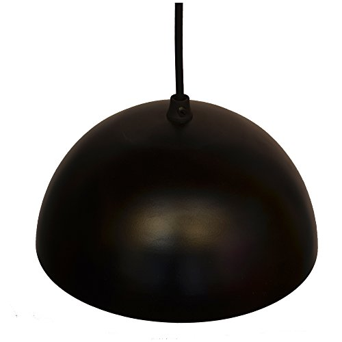Homesake Metallic Black Pendant Hanging Light, Hanging Lamp 8