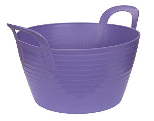 Kerbl 323531 Flexibler Trog Flex Bag, circa 12 Liter, lila