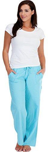 Tom Franks Pantalon en lin avec poches pour femme Tom Franks