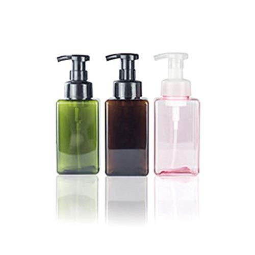 TXIN 3 Stücke 450 mlSchaumflüssigkeiten Seifen Behälter BPA frei Nachfüllbar Körper waschen Leere Flaschen -