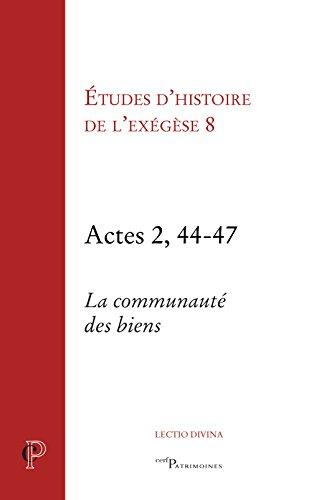 Etudes d'histoire de l'exégèse...