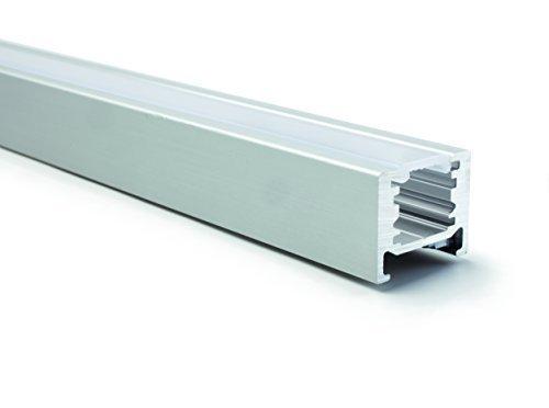 5 Stück - GedoTec Modernes Design LED Profil Boden-Schiene Modell TWIG | 2000 mm | Bodenprofil für LED-Streifen | hochwertige Design Aluminium Profil-Schiene | Markenqualität für Ihren Wohnbereich