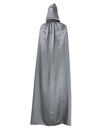 niceEshop(TM) Adult Halloween Death Kostüm Umhang Zauberer Robes, Magier Robes
